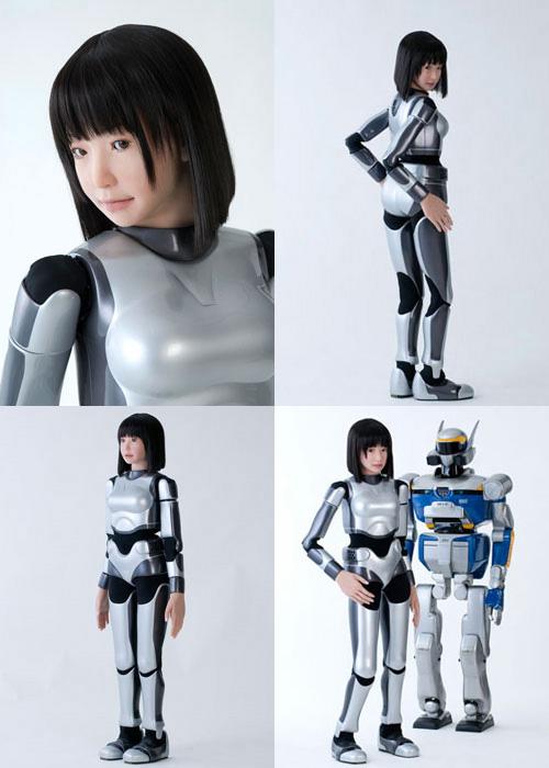 HRP-4C robot mujer