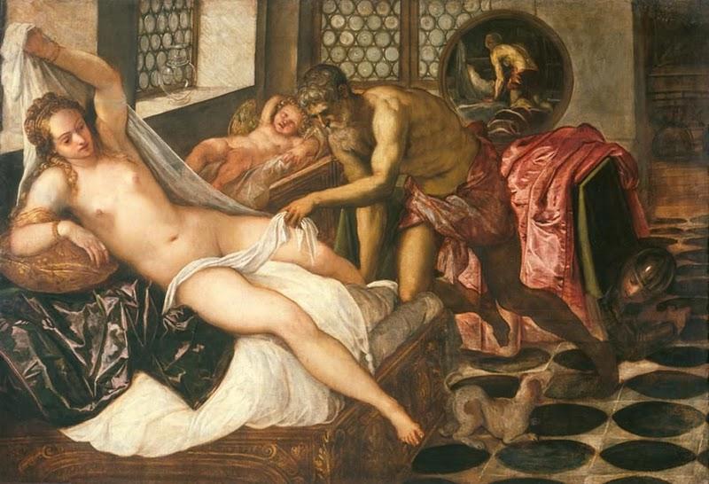 Jacocpo Tintoretto Marte y Venus sorprendidos por Vulcano