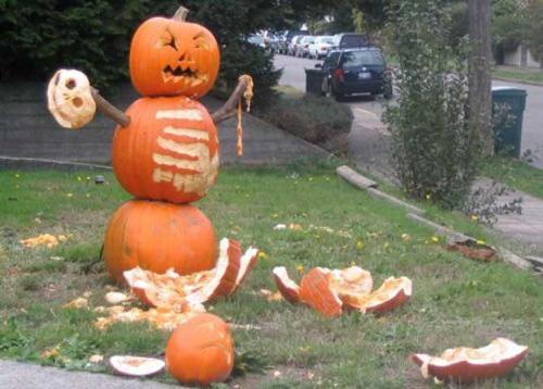 calabaza halloween humor angry-pumpkin