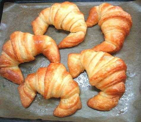 croissants bandeja cruasanes