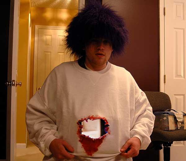Disfraz Rapido Halloween Cheap Disfraz Casero De Halloween Para