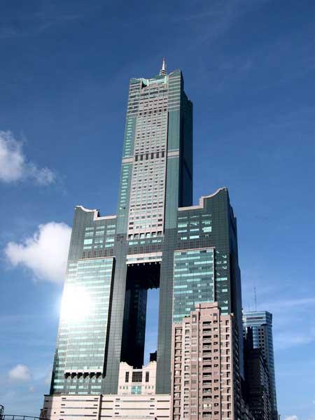 edificio rascacielos desconocido