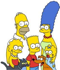 familia-simpson-simpsons-family