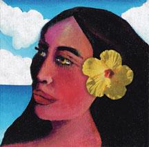 flores-polinesia-pelo-chica-tahiti-pintura