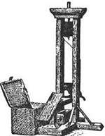 guillotine guillotina cuchilla