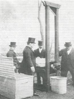 guillotine guillotina imagen foto