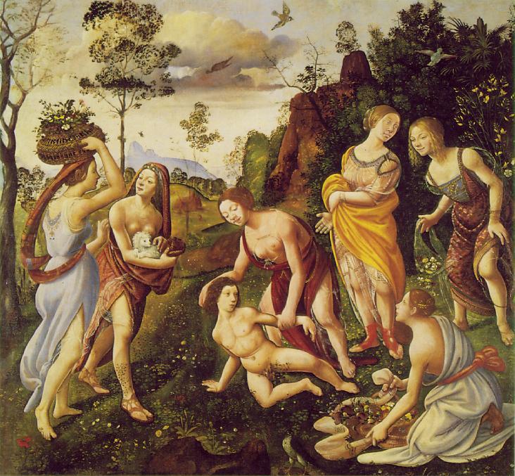 El hallazgo de Vulcano en Lemnos, de Piero di Cosimo