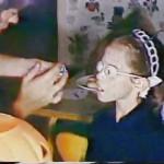 halloween anos 60 disfraz nina