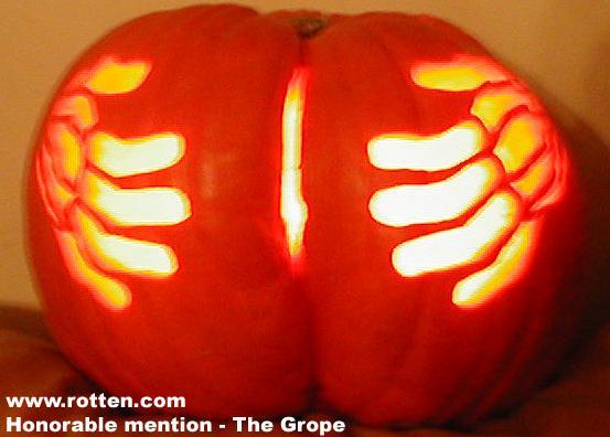 halloween humor calabaza culo