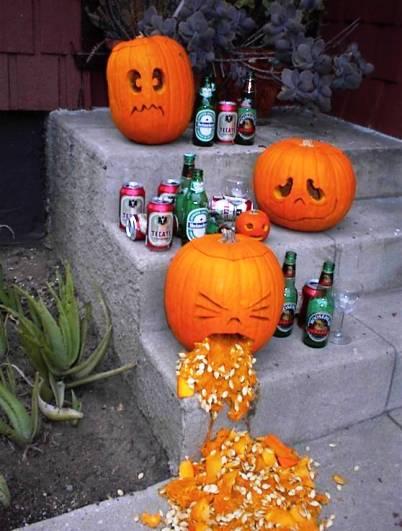 halloween humor calabazas borrachas