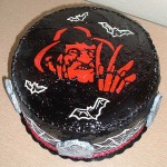 halloween humor tarta freddy-cake