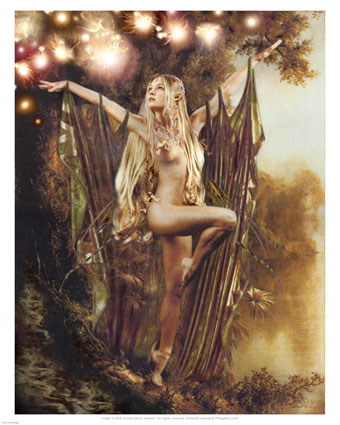 howard-david-johnson-elven-fairy-magic-posters