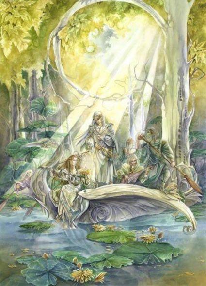 lothlorien reino tolkien