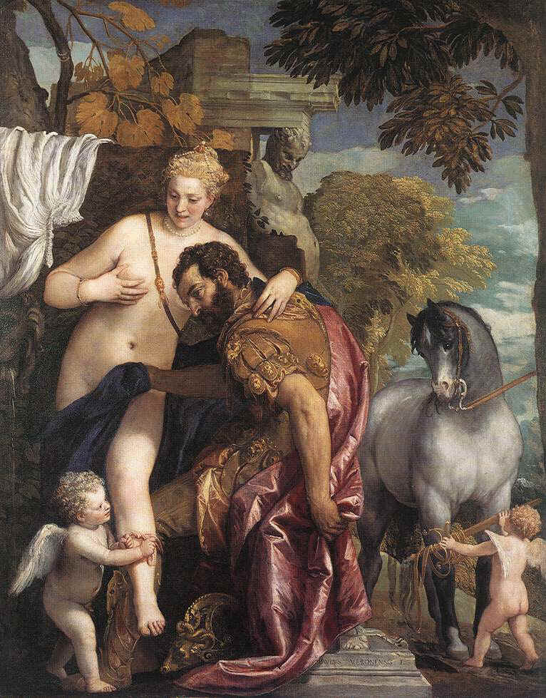 marte-ares-venus-paolo-veronese-1570-metropolitan-museum-nueva-york