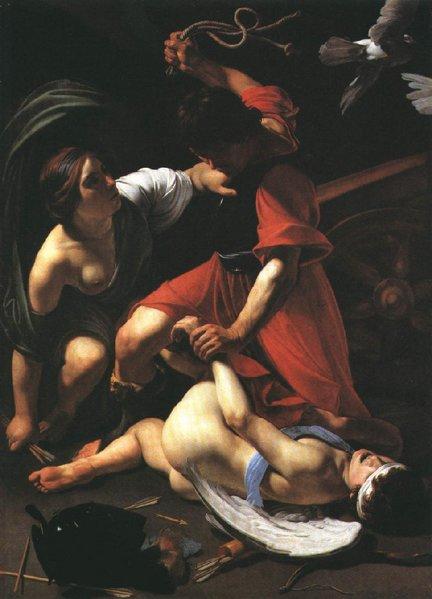 marte-castigando-cupido-bartolomeo-manfredi-instituto-arte-chicago-1605-1610