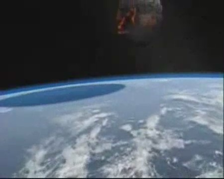 meteorito video impacto tierra
