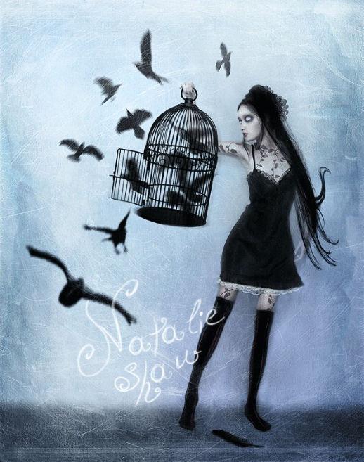 natalie-shau-ilustracion-gotica