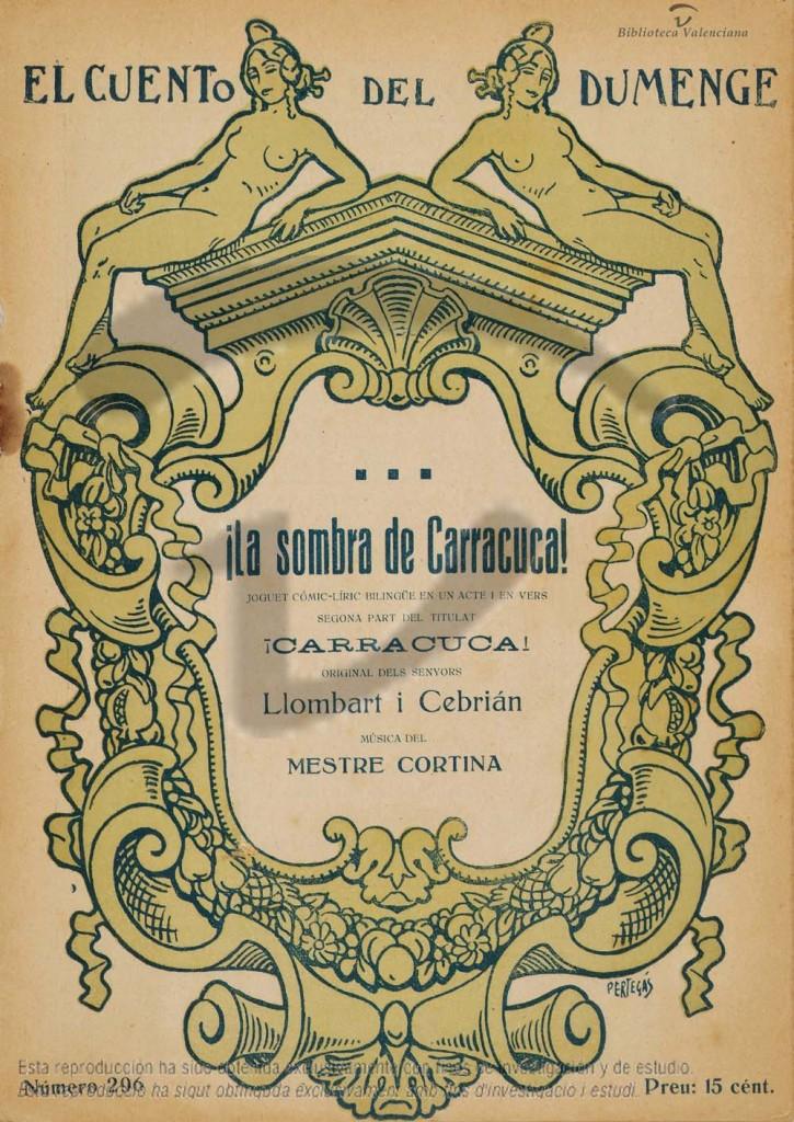 obra teatro La sombra de Carracuca