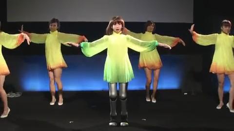 robot HRP-4C bailando
