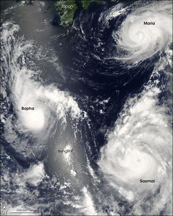 satelite vista tifones