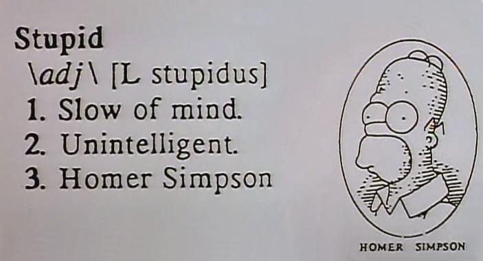 simpsons Definicion de Homer 07