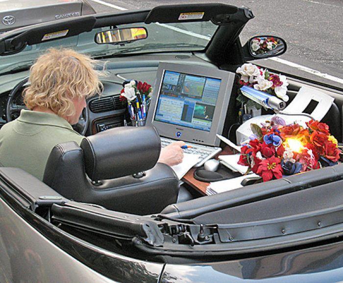 trabajo-imagenes-risa-coche-oficina