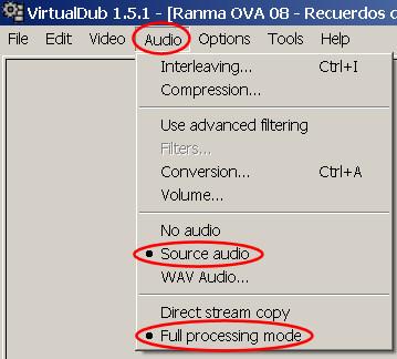 virtual dub improper VBR audio 1
