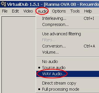 virtual dub improper VBR audio 5
