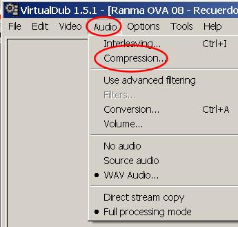 virtual dub improper VBR audio 6