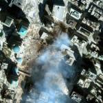 vista satelite torres gemelas 11 septiembre