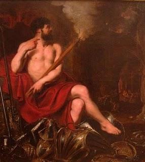 vulcano hefesto mitologia