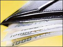 yen yenes dinero japones