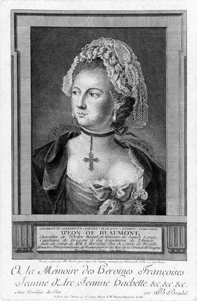 Charles-Genevieve-Louis-Auguste-Andre-Timothee d eon de Beaumont