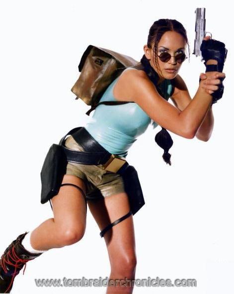 Lucy Clarkson lara croft Tomb Raider Chronicles