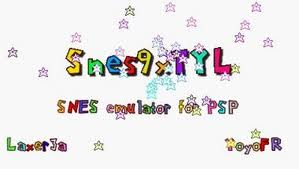 Snes9xTYL emulador snes psp