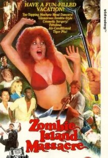 Zombie Island Massacre 1984 terror