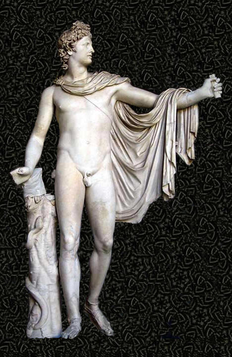 apolo-de-belvedere-representado-como-arquero-leocares-s-iv-ac