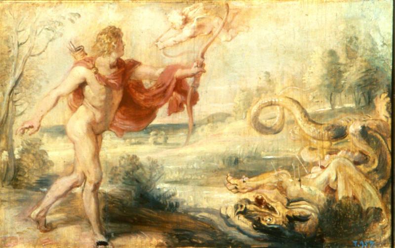 apolo-febo-mitologia-griega-rubens-apolo-serpiente-piton