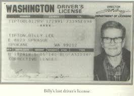 billy tipton  Dorothy Lucille carnet