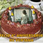 "4º Aniversario de ""Mi ventana"""