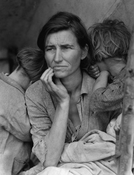 gran-depresion-mujer-inmigrante