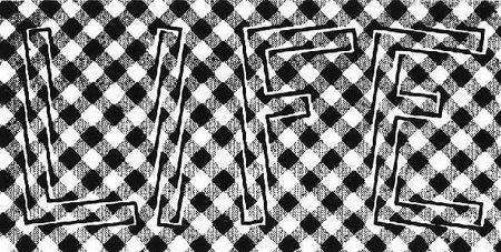 ilusiones opticas letras lineas difusas