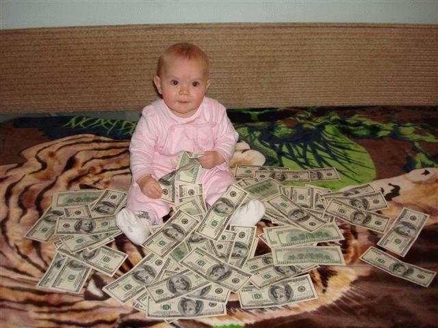 imagenes-risa-bebe-dinero