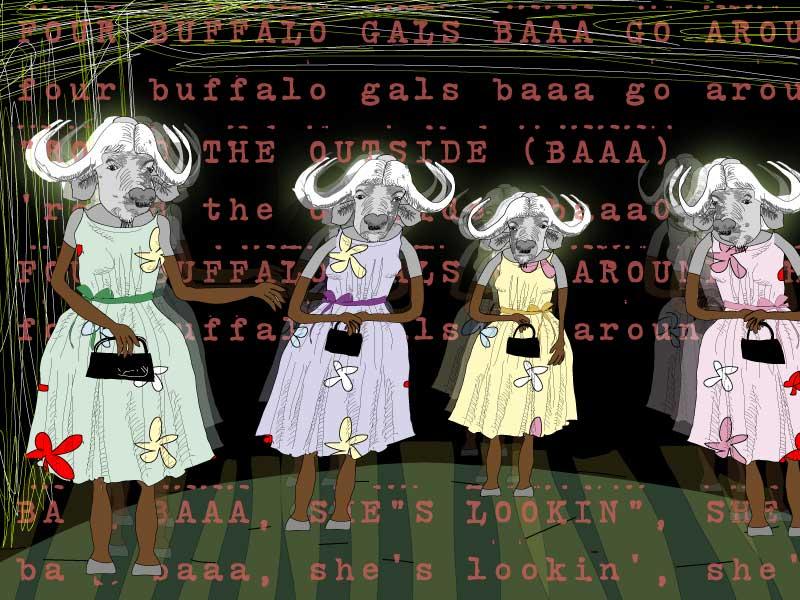 malcom mclaren buffalo gals art