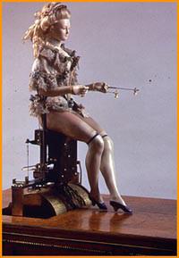 maria antonieta automata tocadora timpano