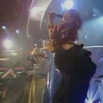 Neneh Cherry embarazada y cantando en TOTP