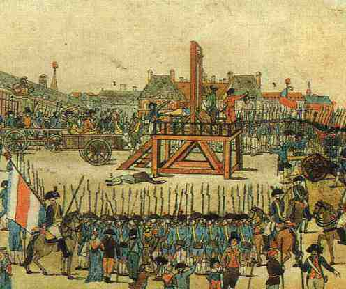 robespierre ejecucion guillotina revolucion