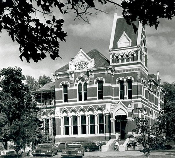 willard library biblioteca 1982