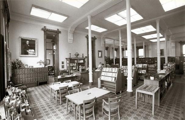 willard library biblioteca 1985