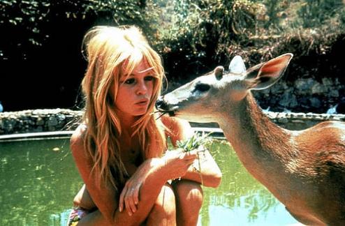 Briggitte Bardot antes bambi